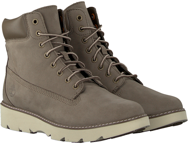 Grijze TIMBERLAND Veterboots KEELEY FIELD  - large