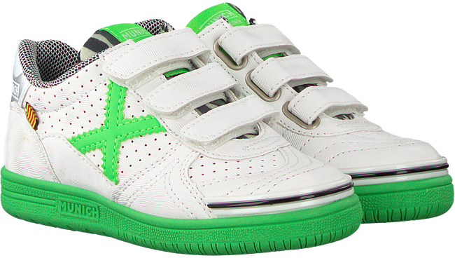 Witte MUNICH Sneakers G3 VELCRO - large