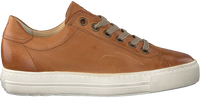 Cognac PAUL GREEN Lage sneakers 4841 - medium