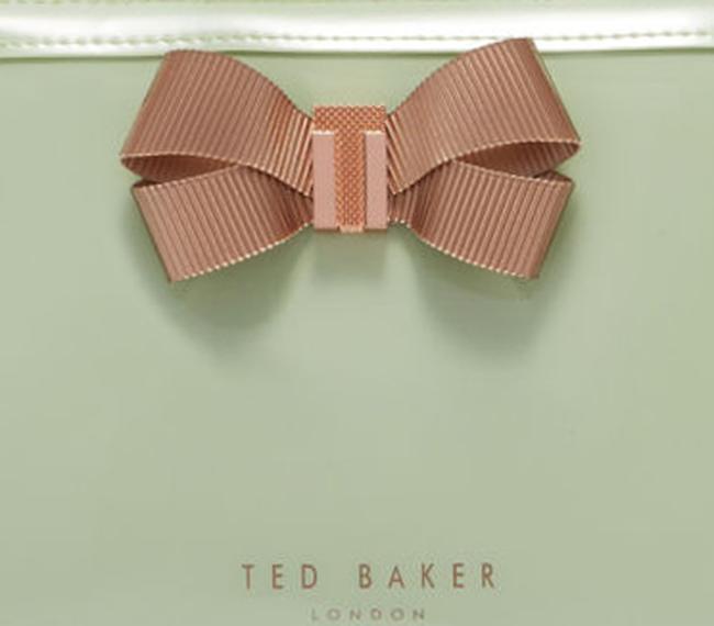 Groene TED BAKER Toilettas LIBBERT - large