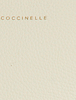 Witte COCCINELLE Handtas CONCRETE MEDIUM - small