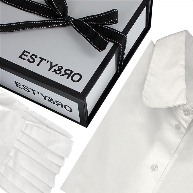 Witte EST'Y&RO Kraagje EST'50 - large