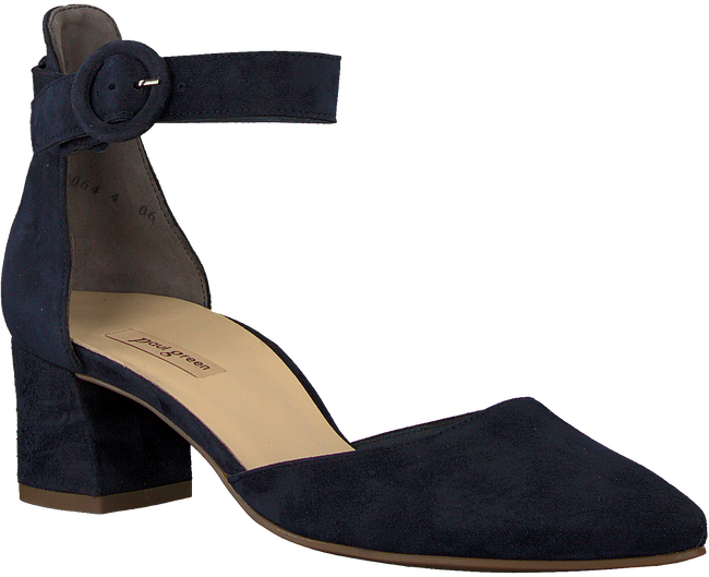 Blauwe PAUL GREEN Pumps 7273  - large