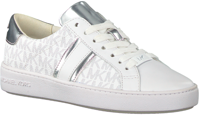 Witte MICHAEL KORS Lage sneakers IRVING STRIPE LACE UP  - large