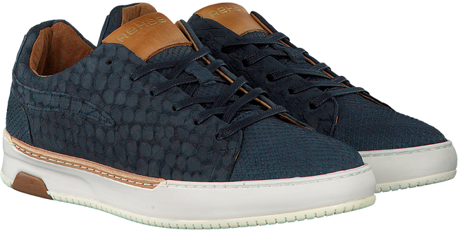 Blauwe REHAB Sneakers THOMAS II LIZARD  - large