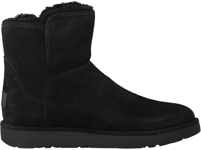 Zwarte UGG Vachtlaarzen ABREE MINI  - large