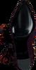 Paarse FABIENNE CHAPOT Enkellaarsjes HUGO BOOT/SCARF - small
