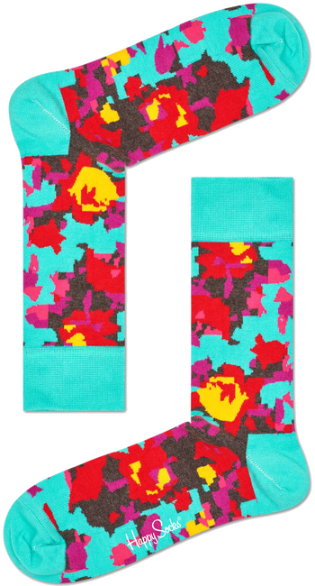 HAPPY SOCKS Sokken FLOWER - large