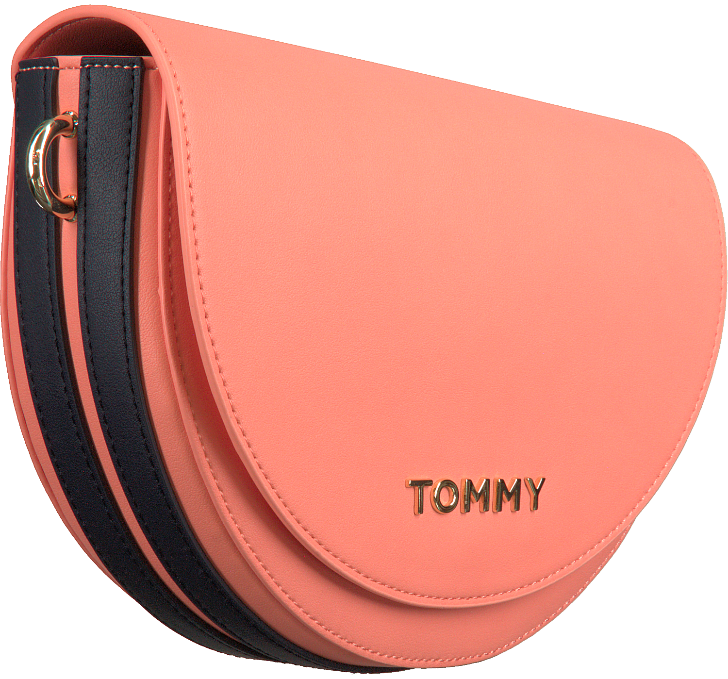 Oranje TOMMY HILFIGER Schoudertas TOMMY STAPLE SADDLE | Omoda