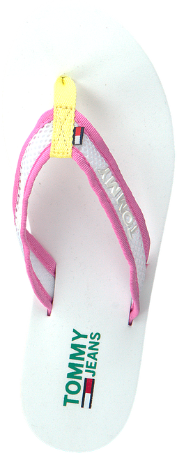 Witte TOMMY HILFIGER Slippers RECYCLED MESH MID BEACH  - large