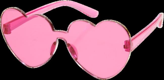 Roze LE BIG Zonnebril SHERILYN SUNGLASSES  - large