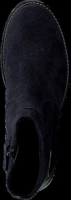 Zwarte APPLES & PEARS Enkellaarsjes ELGA  - large