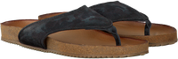 Zwarte MJUS Slippers 463004 - medium