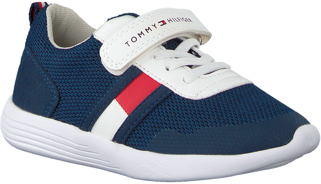 Blauwe TOMMY HILFIGER Sneakers LOW CUT LACE UP/VELCRO  - large