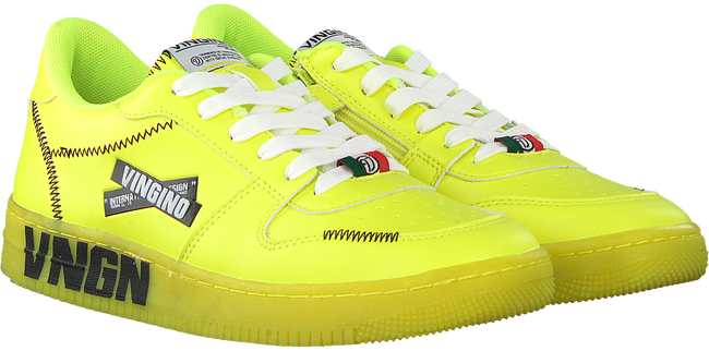Gele VINGINO Lage sneakers YARI LOW  - large
