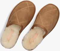 Bruine SHABBIES Pantoffels 170020200  - medium