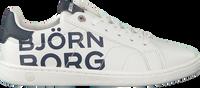 Witte BJORN BORG Lage sneakers T305 LGO  - medium