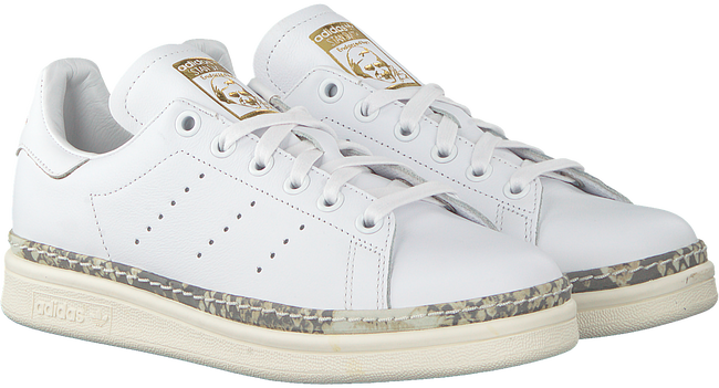 Witte ADIDAS Sneakers STAN SMITH NEW BOLD  - large