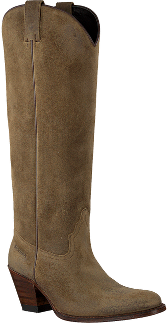 Taupe SENDRA Cowboylaarzen 6592  - large