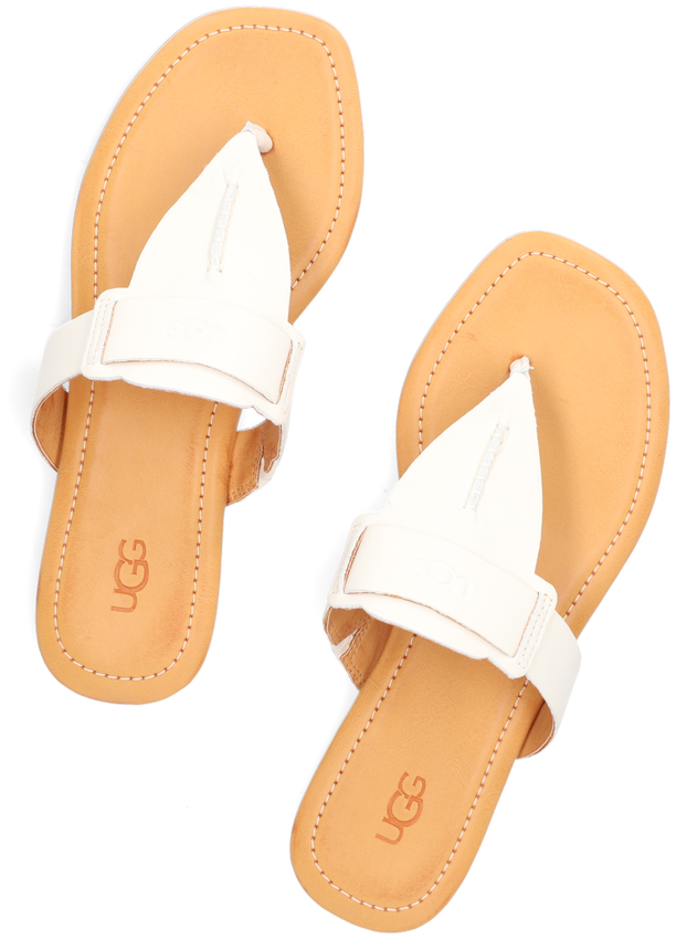 Witte UGG Slippers W GAILA  - larger