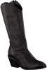 Zwarte ROBERTO D'ANGELO Lange laarzen KOKO  - small