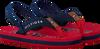 Rode TOMMY HILFIGER Slippers VARSITY PRINT FLIP FLOP  - small
