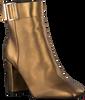 Gouden TOMMY HILFIGER Enkellaarsjes SQUARE TOE  - small