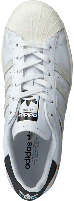 Witte ADIDAS Lage sneakers SUPERSTAR  - large
