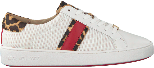 Witte MICHAEL KORS Sneakers IRVING STRIPE LACE UP  - large