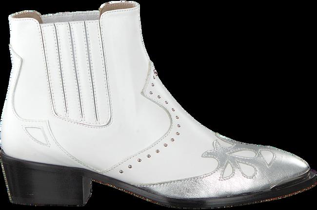 Witte TORAL Enkellaarsjes 10602  - large