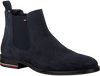 Blauwe TOMMY HILFIGER Chelsea boots SIGNATURE HILFIGER CHELSEA  - small