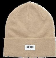 Beige MSCH COPENHAGEN  Muts MOJO BEANIE  - medium