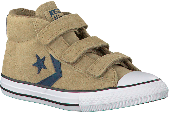 Beige CONVERSE Sneakers STAR PLAYER 3V MID  - large