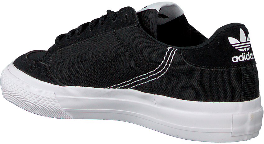 Zwarte ADIDAS Lage sneakers CONTINENTAL VULC C  - larger