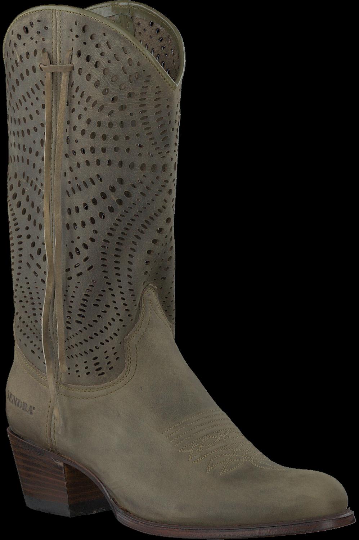 Groene SENDRA Lange laarzen 12600 | Omoda