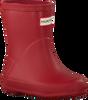 Rode HUNTER Regenlaarzen KIDS FIRST CLASSIC - small