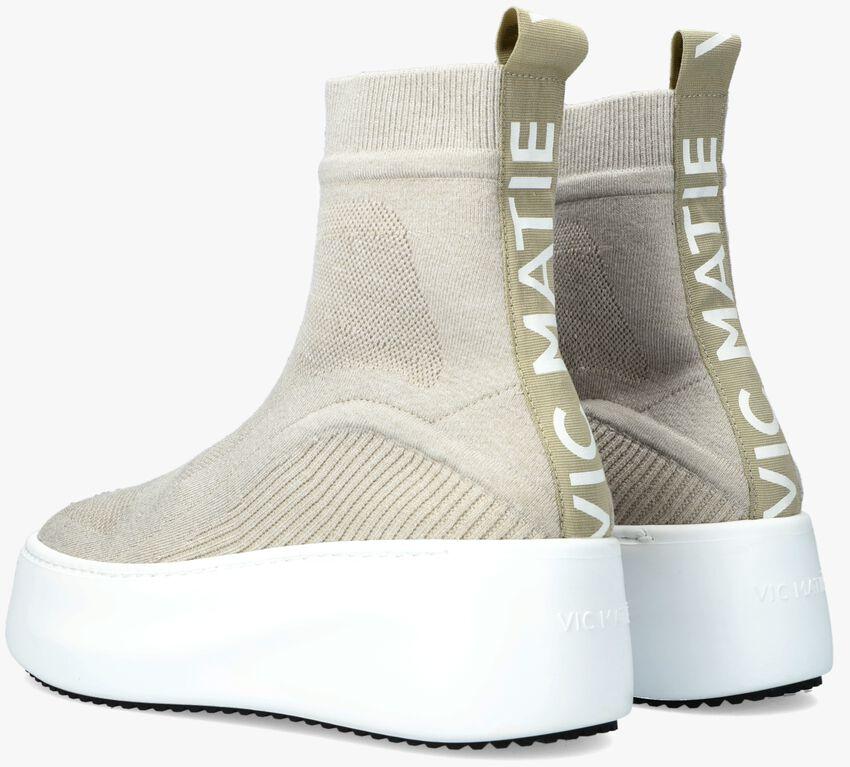 Beige VIC MATIE Hoge sneaker 1W3414D  - larger