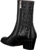 Zwarte PERTINI Enkellaarsjes 16170 - small