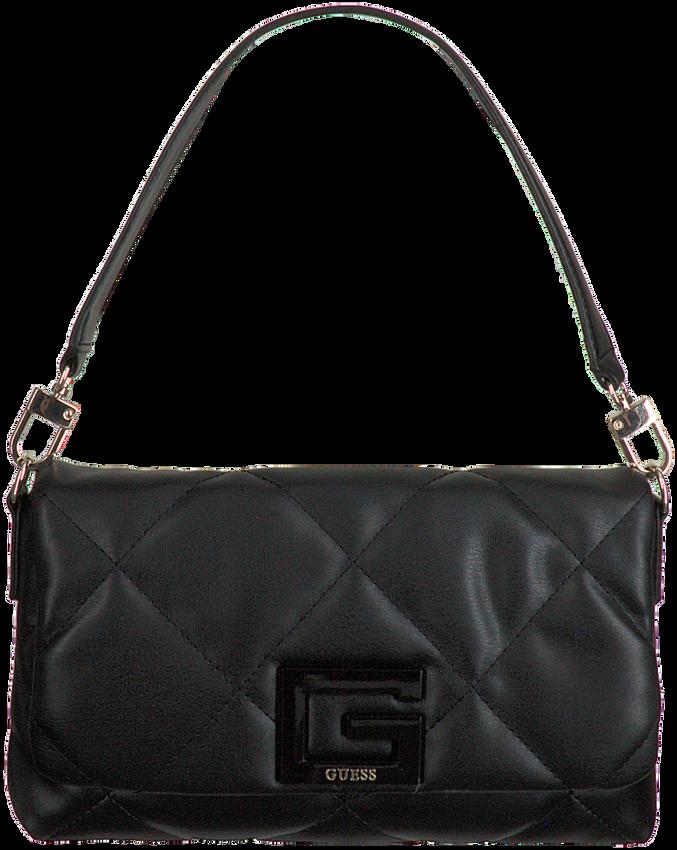 Zwarte GUESS Schoudertas BRIGHTSIDE SHOULDER BAG  - larger