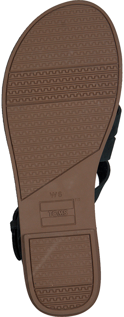 Zwarte TOMS Sandalen WM SICILY SAND  - large