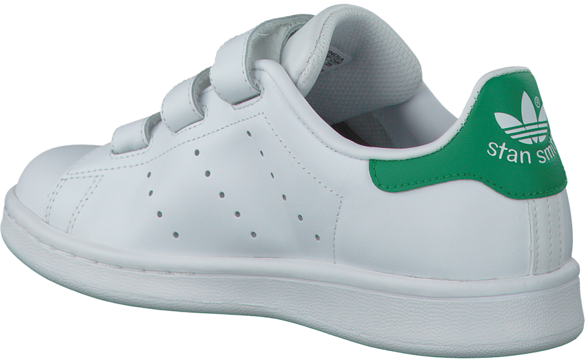 Witte ADIDAS Sneakers STAN SMITH CF J  - larger