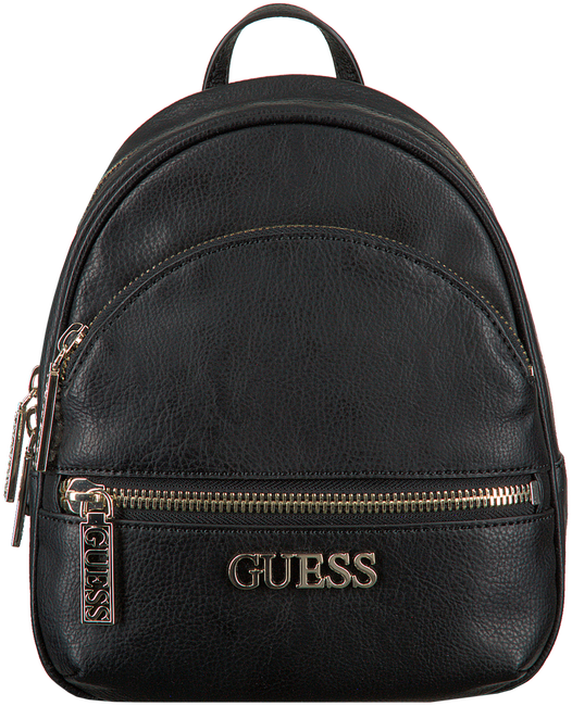 Zwarte GUESS Rugtas MANHATTAN SMALL BACKPACK - large