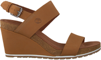 Cognac TIMBERLAND Sandalen CAPRI SUNSET WEDGE - medium