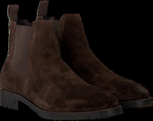 Bruine SCOTCH & SODA Chelsea boots PICARO  - large