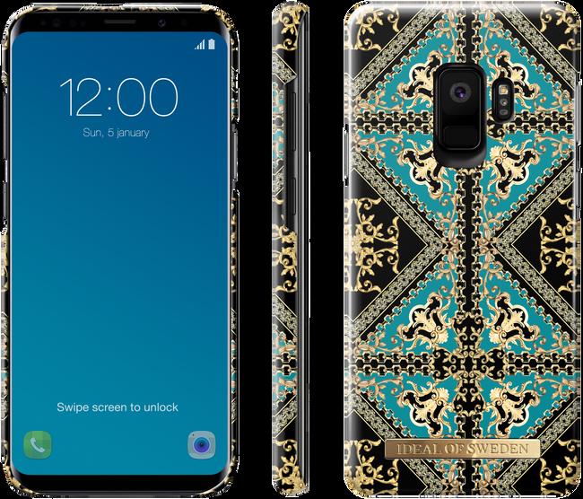 Groene IDEAL OF SWEDEN Telefoonhoesje FASHION CASE GALAXY S9 - large