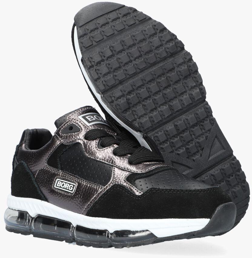 Zwarte BJORN BORG Lage sneakers X500 MET  - larger