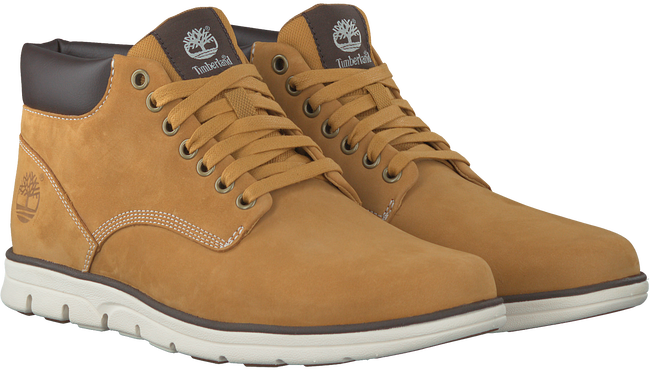 Gele TIMBERLAND Sneakers BRADSTREET CHUKKA LEATHER  - large