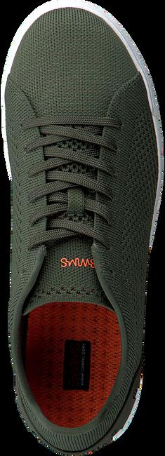 Groene SWIMS Sneakers BREEZE TENNIS KNIT  - large
