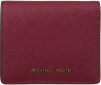 17174a99009 Rode MICHAEL KORS Portemonnee FLAP CARD HOLDER - medium