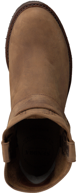 Bruine SENDRA Cowboylaarzen 9077 RONDE LEEST  - large